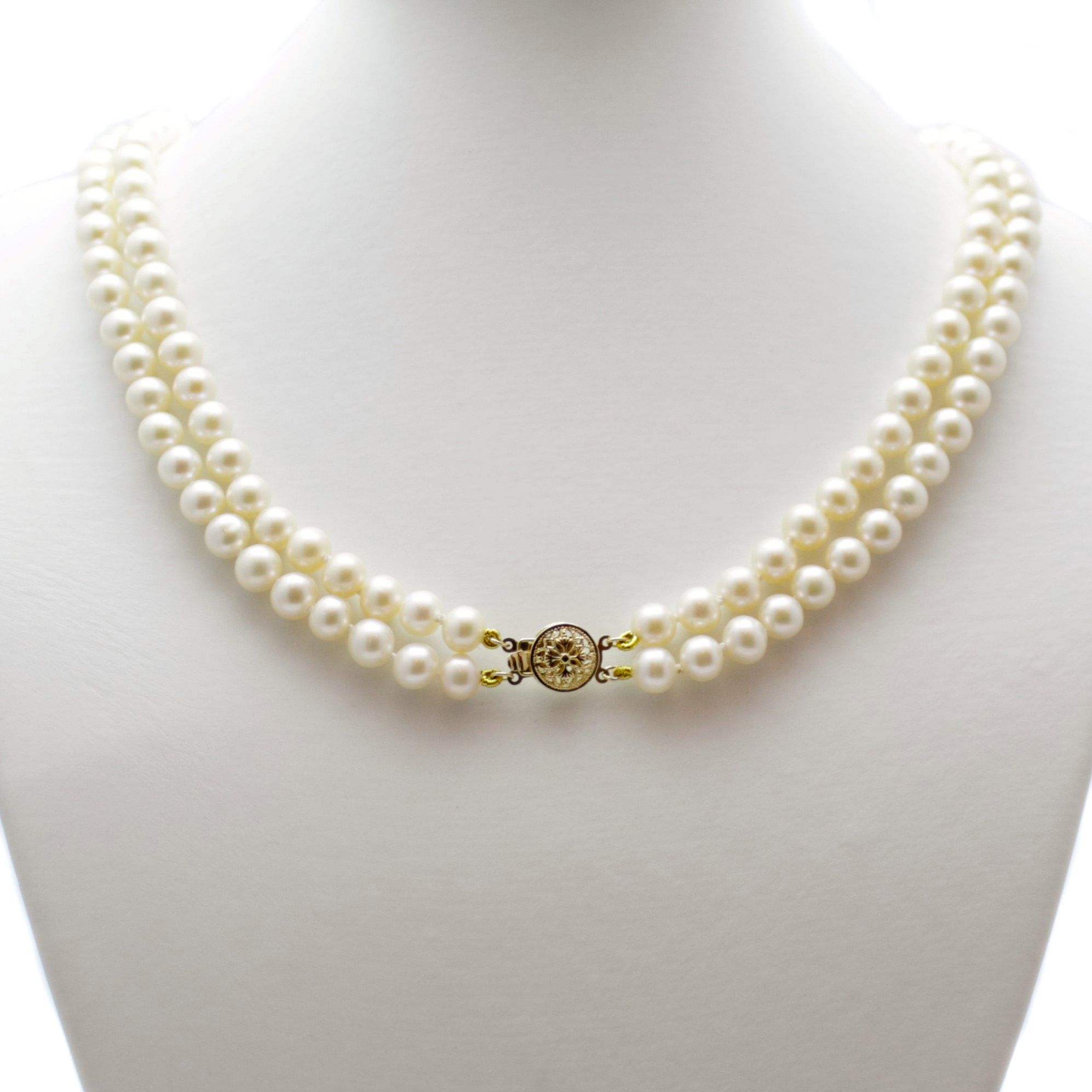 hires necklace gb amp london pearls of diamond links gold rose effervescence and pearl en